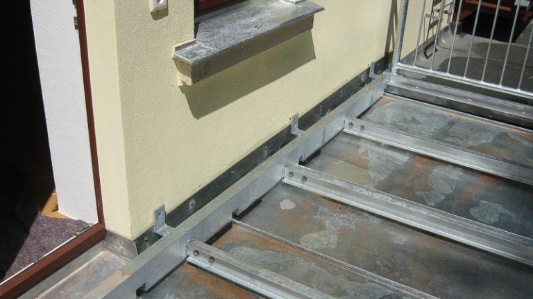 Stahlbau Balkon und Terrasse