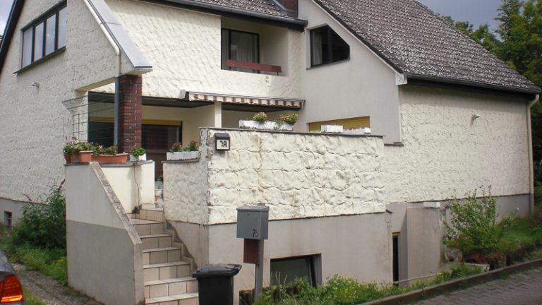 Treppenanlage und Fassade