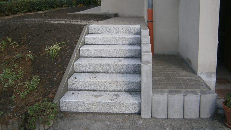 Weg und Treppe Dresden