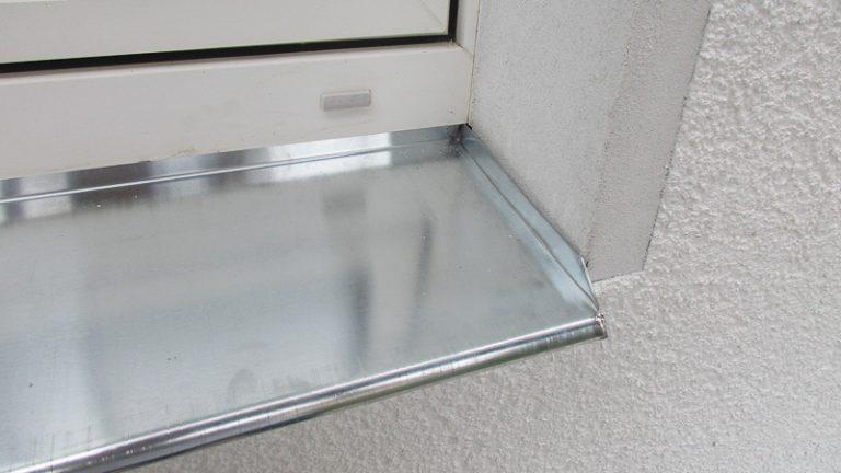Fensterbank Zink