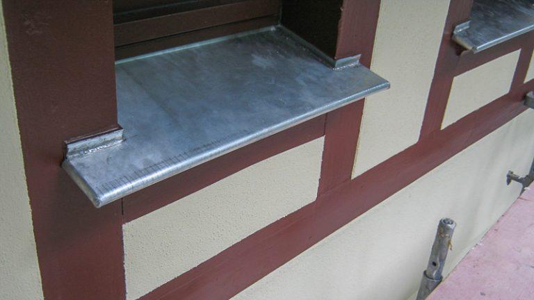 Fensterbank Titanzink