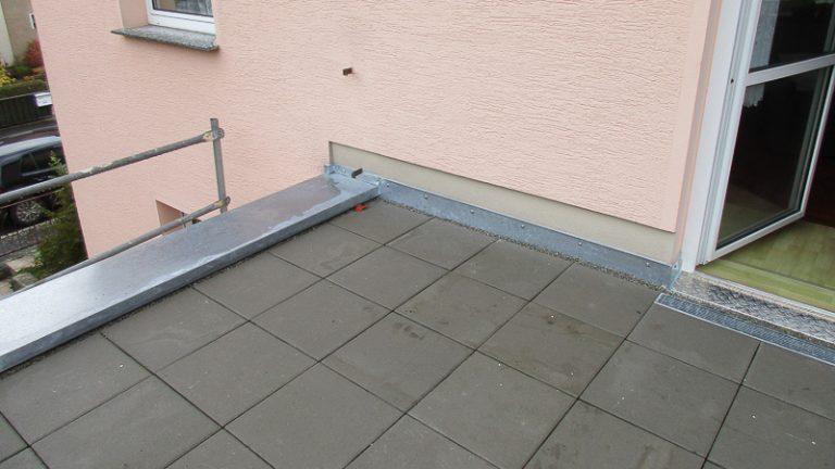 Terrassenabdichtung / Neuaufbau Dresden