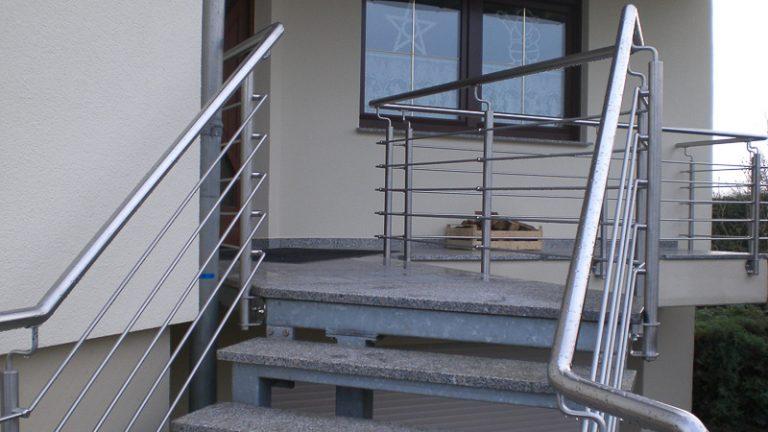 Geländer Edelstahl Teutschenthal