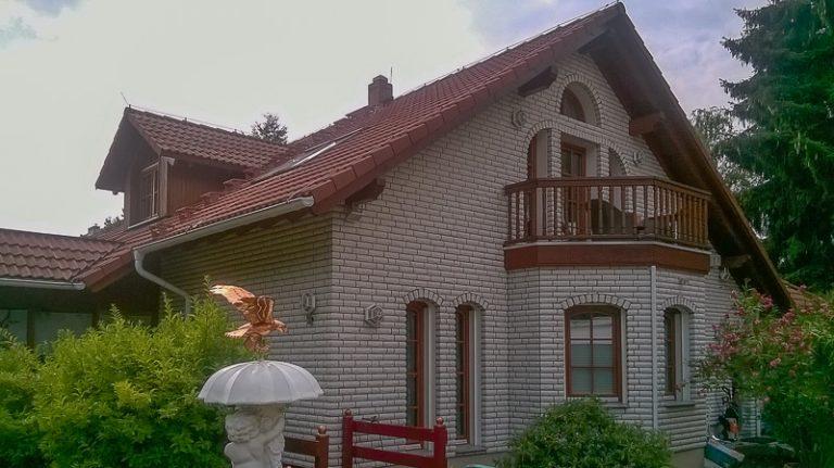 Fassade, Terrasse und Treppe Berlin