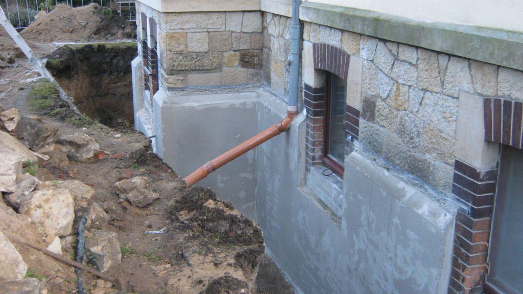 Bauwerkstrockenlegung/Gebäudeabdichtung