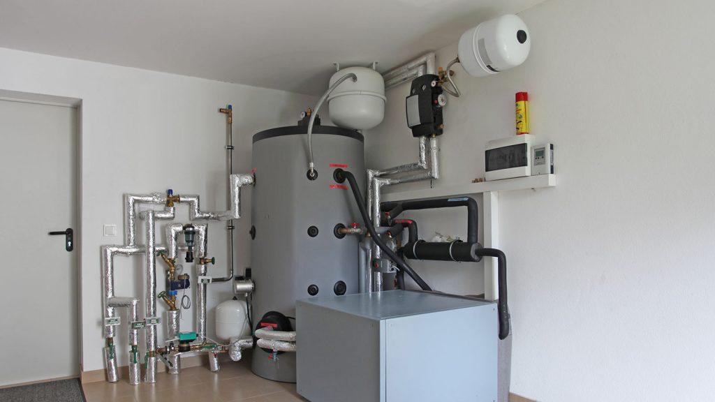 Biomasse/Pelletheizung