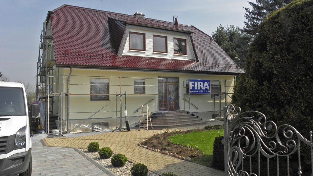 Fassadensanierung/Fassadenschutz