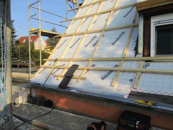 Die Notwenigkeit einer Dachsanierung