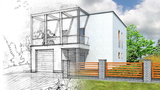 Haus umbauen